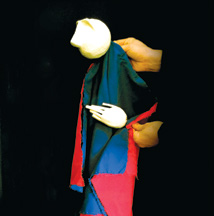 'Marionetas em família'