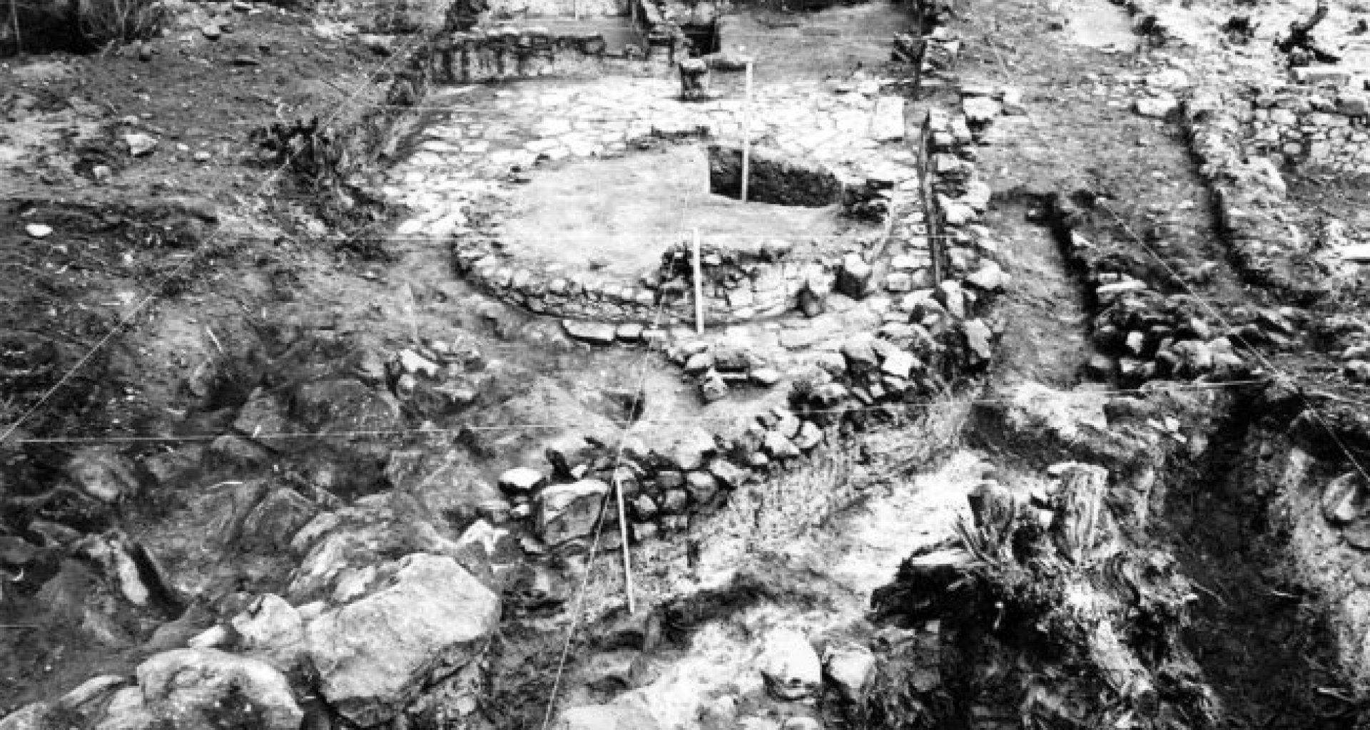 Castro de Romariz_Escavação