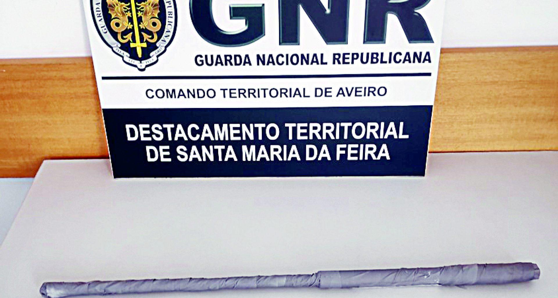 GNR Aveiro - Apreensão